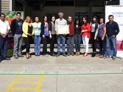 SENDA certifica a empresa Subsole de Hijuelas como espacio laboral preventivo
