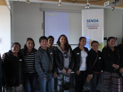 SENDA Previene Valdivia realizó capacitación en Parentalidad Positiva