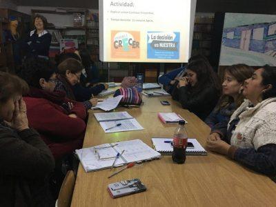 Profesores se capacitan en oferta Continuo Preventivo de SENDA