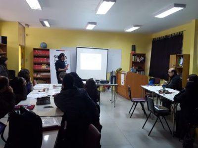 Profesores de La Cisterna se capacitan en oferta Continuo Preventivo