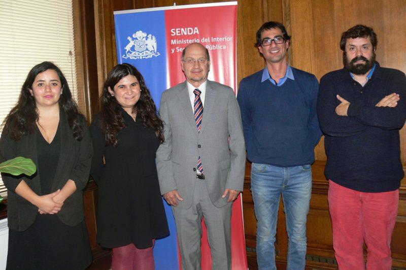 Director de SENDA recibió a representantes de la Fundación Emilia