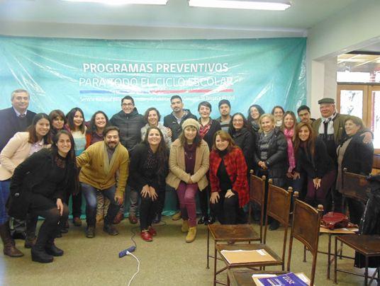 Establecimientos educacionales de Huechuraba se capacitan en Continuo Preventivo
