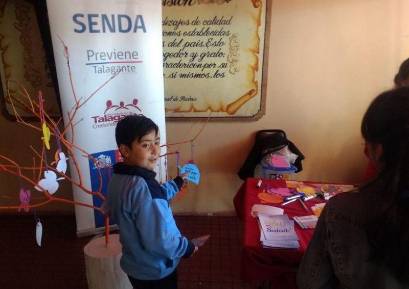 Estudiantes focalizados por SENDA participan del Día de la Familia