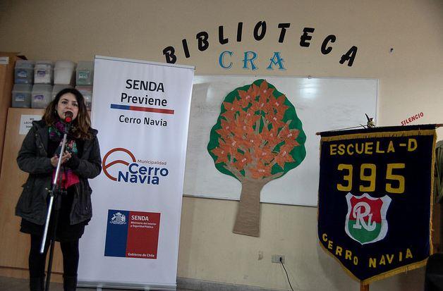 SENDA Previene Cerro Navia lanza el Continuo Preventivo