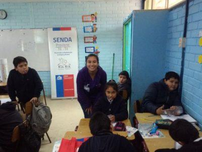 SENDA Previene Tiltil celebra el Día de la Convivencia Escolar