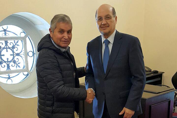 Director de SENDA se reunió con presidente de la Comisión de Cultura de la Cámara
