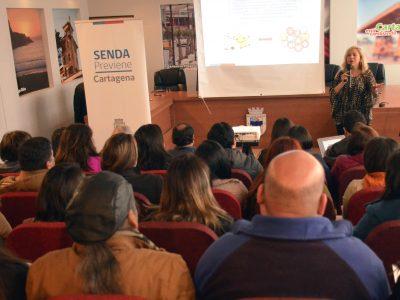 Profesionales de Cartagena son certificados como agentes preventivos en establecimientos educacionales
