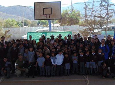 Director Nacional da inicio al año escolar preventivo en Vicuña