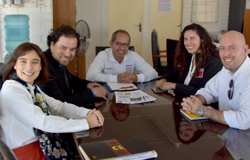 Jefe de Gabinete de SENDA desarrolló intensa agenda de trabajo en Región de Tarapacá