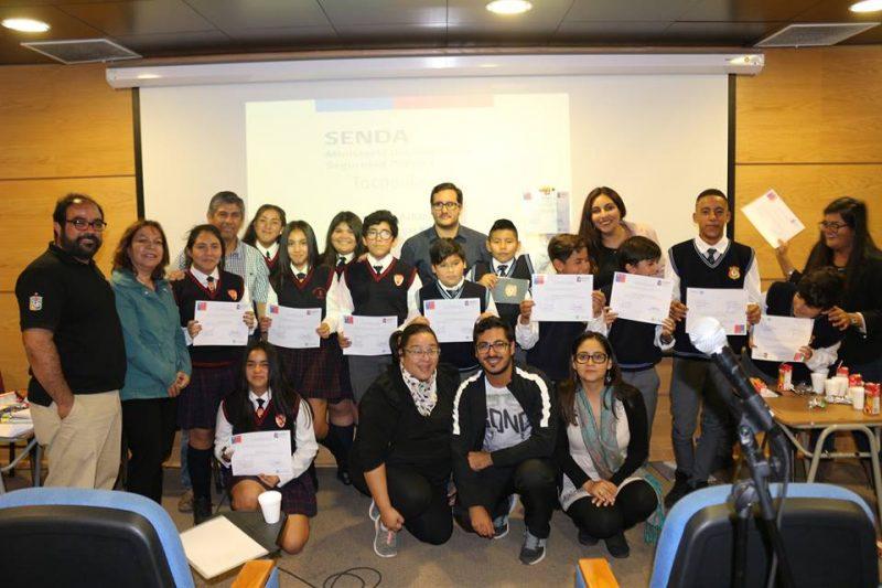 Jóvenes tocopillanos participan en debates escolares de SENDA