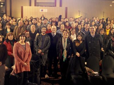 Director de SENDA dialoga con profesores de la Región Metropolitana
