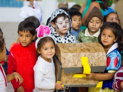 Con actividades artísticas  párvulos de la Escuela Gabriela Mistral refuerzan programa «Descubriendo El Gran Tesoro»