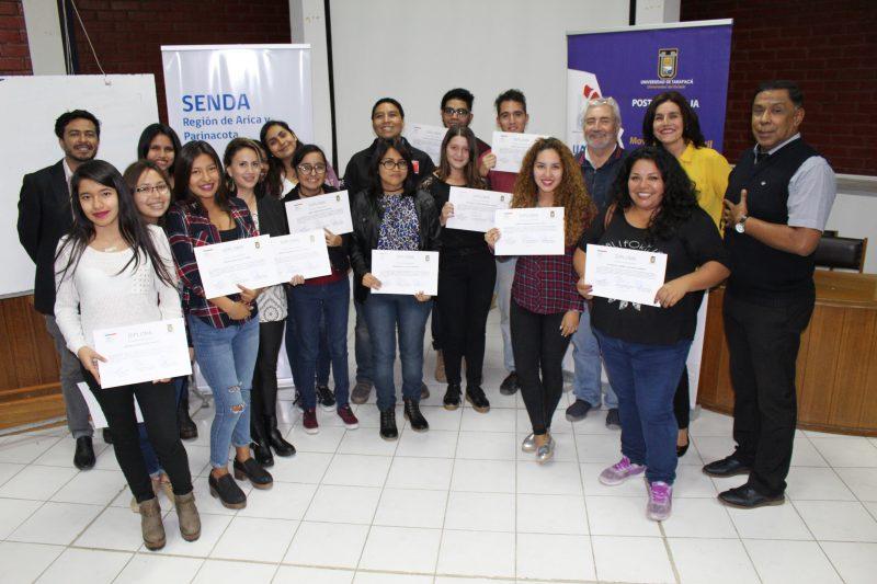 Alumnos de la Universidad de Tarapacá aprueban programa en prevención de drogas