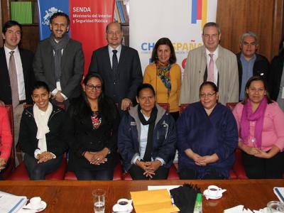 SENDA capacitará a profesionales de El Salvador en tratamiento de población infanto-adolescente