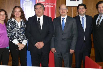 SENDA y Gendarmería acuerdan iniciativas conjuntas en prevención y tratamiento del consumo de drogas
