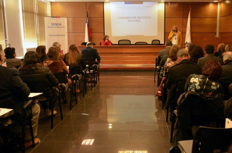 Con masiva participación se realizó seminario de Gestión municipal frente al consumo de alcohol de riesgo en Valparaíso
