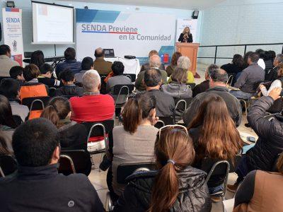 Más de 100 personas participan en Cuenta Pública de SENDA Valparaíso que se realizó en Papudo