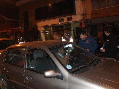 700 controles preventivos a conductores realizó SENDA Los Ríos junto a Carabineros durante fin de semana largo