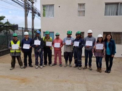 Previene Tocopilla realizó capacitación a trabajadores de AES Gener