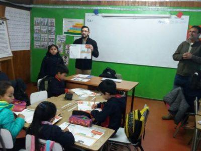 En el colegio Felipe Barthou de Lanco se inició la aplicación de programas preventivos de SENDA