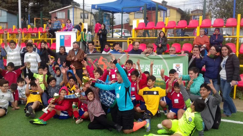 Realizaron campeonato de fútbol preventivo para niños de La Unión