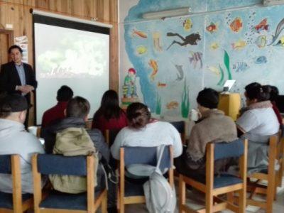 Programa Actuar a Tiempo de SENDA Previene Paillaco realizó Taller de Emprendimiento con estudiantes del liceo agrícola Radio 24 El Llolly