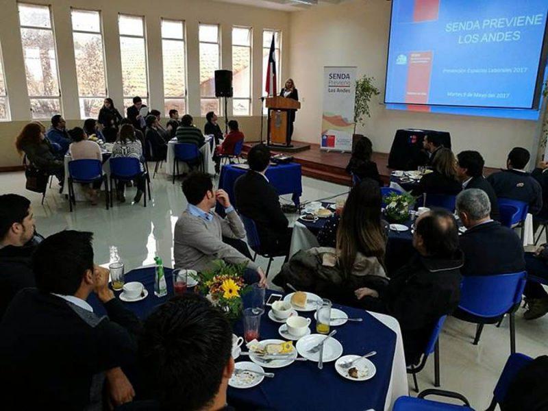 Empresas andinas reafirman su compromiso con la Prevención