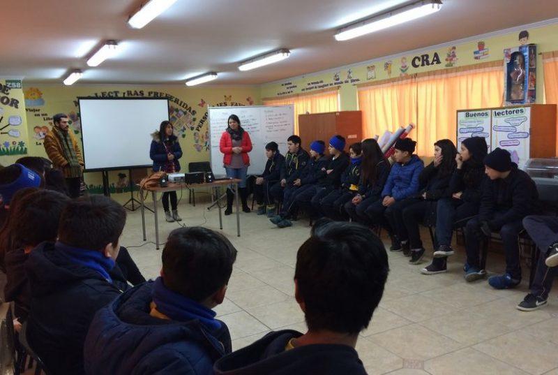 Estudiantes de Melipilla participan en talleres preventivos de alcohol