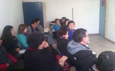 Mesa de Gestión Educacional se reúne con el SENDA Previene La Cisterna