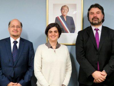 Director de SENDA se reunió con ministra de la Mujer y Equidad de Género