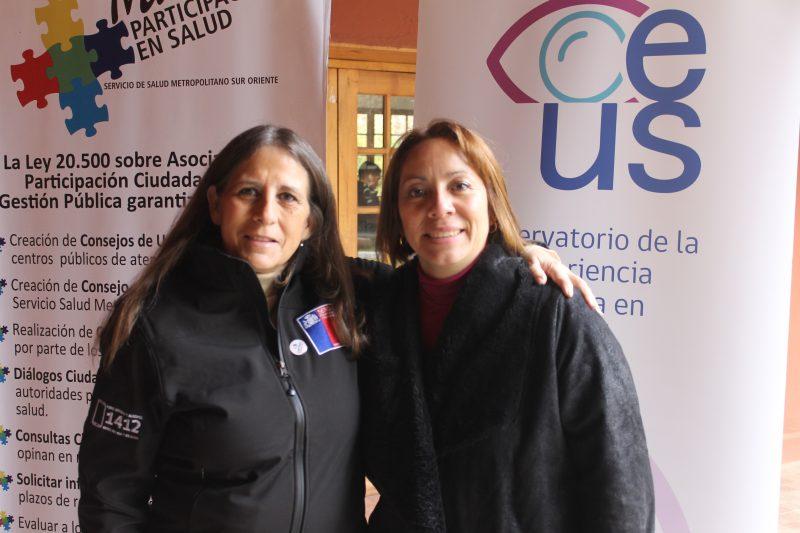 Directora abre primera jornada de la Escuela Ciudadana en Salud de Pirque