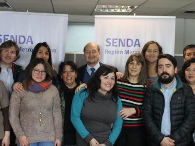 Director de SENDA dialoga con el Comité Técnico Previene de la Región Metropolitana