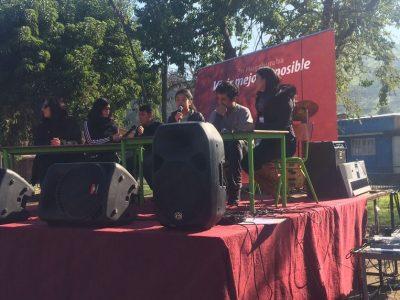 Agentes preventivos de Saavedra participaron en Jornada de Sensibilización