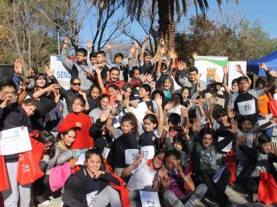 Con maratón preventiva estudiantes de Tiltil se suman al Mes de la Prevención