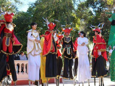 SENDA Previene San Felipe realizó carnaval con motivo del Día Internacional de la Prevención 2017