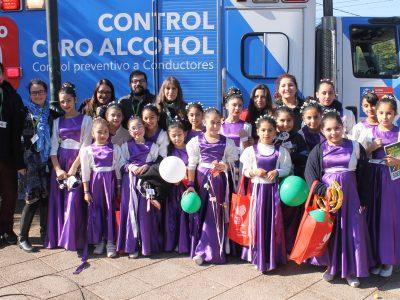 Peñaflor conmemora el Mes de la Prevención en la plaza de armas