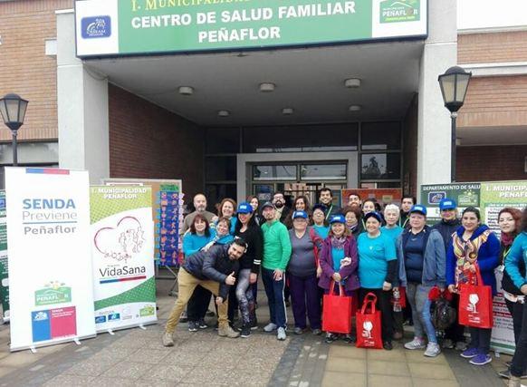 Con actividad deportiva inician el Mes de la Prevención en Peñaflor