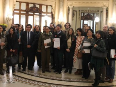 SENDA participa en constitución de la Mesa Regional de Infancia
