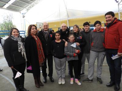 Senda apoya labor preventiva de Carabineros en Illapel