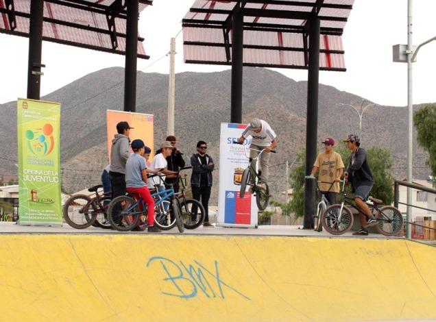 Con actividades deportivas celebran el Día de la Prevención en Vicuña