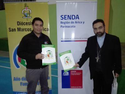 SENDA Arica Parinacota y Obispado de Arica firman protocolo de colaboración