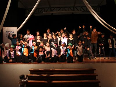 Con Música y Teatro inician actividades conmemorativas al Mes de la Prevención en SENDA