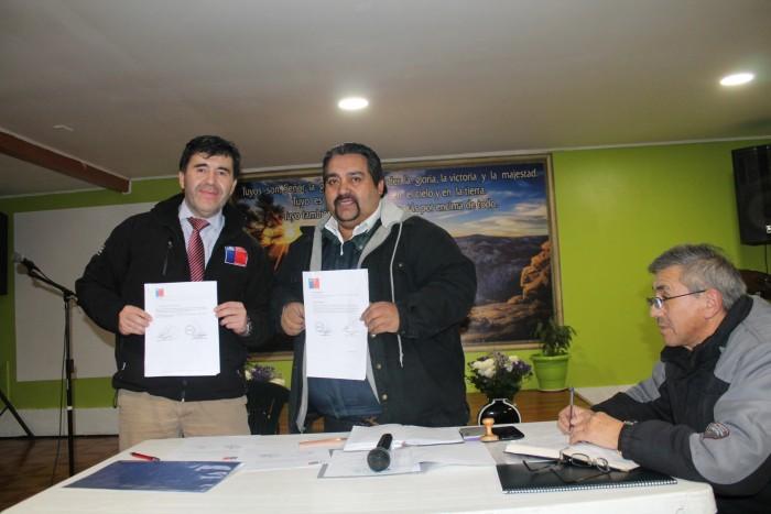SENDA Los Ríos firmó acuerdo de colaboración en materia preventiva con Concilio  Evangélico de Chile