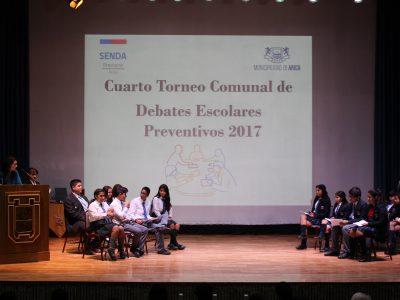 Escuela Gabriela Mistral es el representante para el Macro Zonal estudiantil de Debates Preventivos