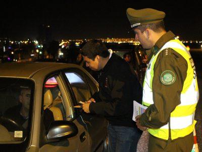 Más de quinientos  controles de alcotest a conductores realizó SENDA Arica y Parinacota durante fin de semana largo
