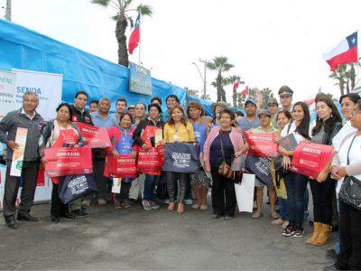 SENDA junto a autoridades  refuerzan medidas sanitarias y preventivas para este 7 de Junio en Arica
