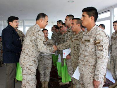 Certifican a 42 militares del Ejército de Chile como monitores preventivos de drogas en Antofagasta