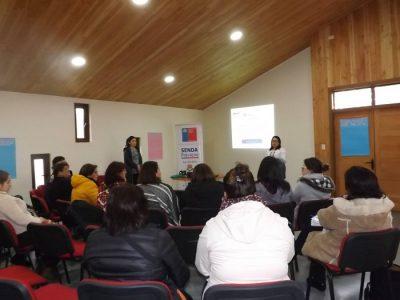 SENDA Previene La Unión realizó capacitación en Parentalidad Positiva a adultos significativos del área educacional de la comuna