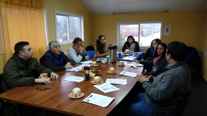 SENDA Previene Lanco desarrolló conversatorio local sobre drogas