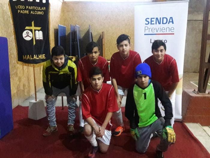 En Lanco celebraron el Día de la Prevención con jornada deportiva